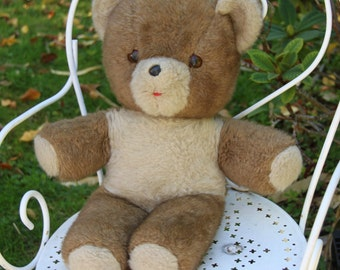 Teddy Bear Brown / Vintage Toy / Holy10