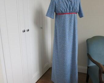 """Regency style /Jane Austen dress to fit Bust size 40 -42"""" ( 102-107 cm)"""