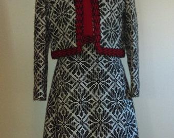 Vintage Billy Lewis Dress and Jacket.