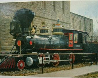 Vintage USA postcard.Vintage train. Railroad.Locomotive. Nevada. Railroad postcard.Collectible.Ephemera.Stationery. Collectible.Souvenir.