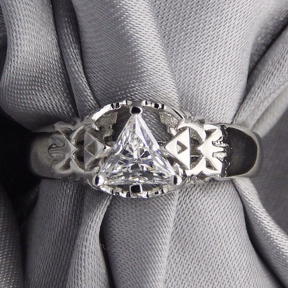 Legend of Zelda Triangle Stone Ring