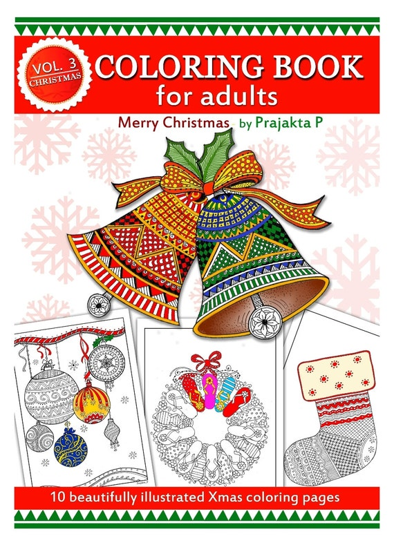 Printable Coloring Book Christmas Coloring By