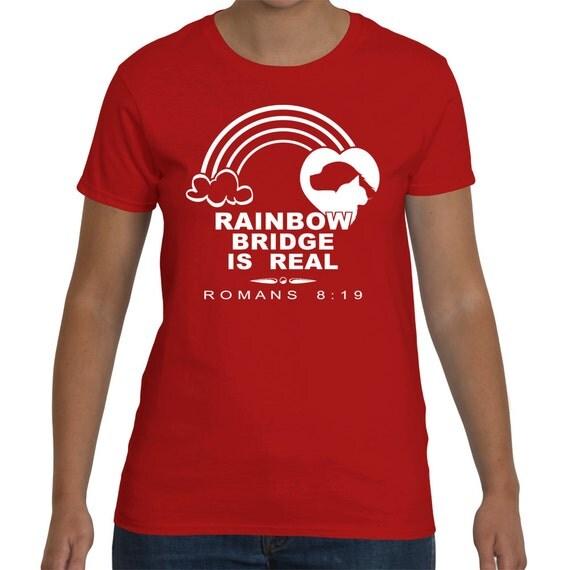 Rainbow Bridge Is Real Animal Rights Shirt Animal By
