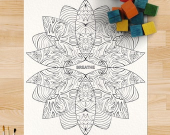 Lotus Coloring Page #0120