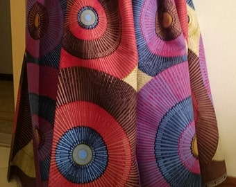 African wax Print  Fabric. 3 yards, for African Print dress, African Clothing, Ankara fabric,abstract pattern, vlisco style, super wax