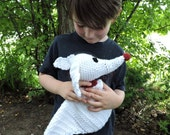 crochet PATTERN Zero the ghost dog plush inspired by the movie Nightmare before christmas made by Tim Burton, Zero the dog Jack friend's