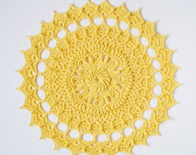 Crochet doily pattern LILLA