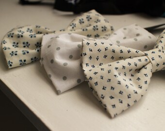Subtle Patterned Bow Tie