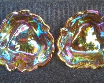 Indiana Glass Loganberry BonBon bowls (set of 2)