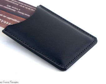 Leather Business cards holder - Business cards case - For men and Women