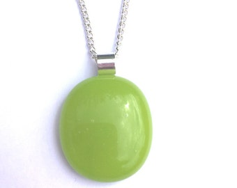 Lime green pendant,lime green necklace,bright green pendant,bright green necklace,lime jewellery,unusual pendant,tropical jewellery