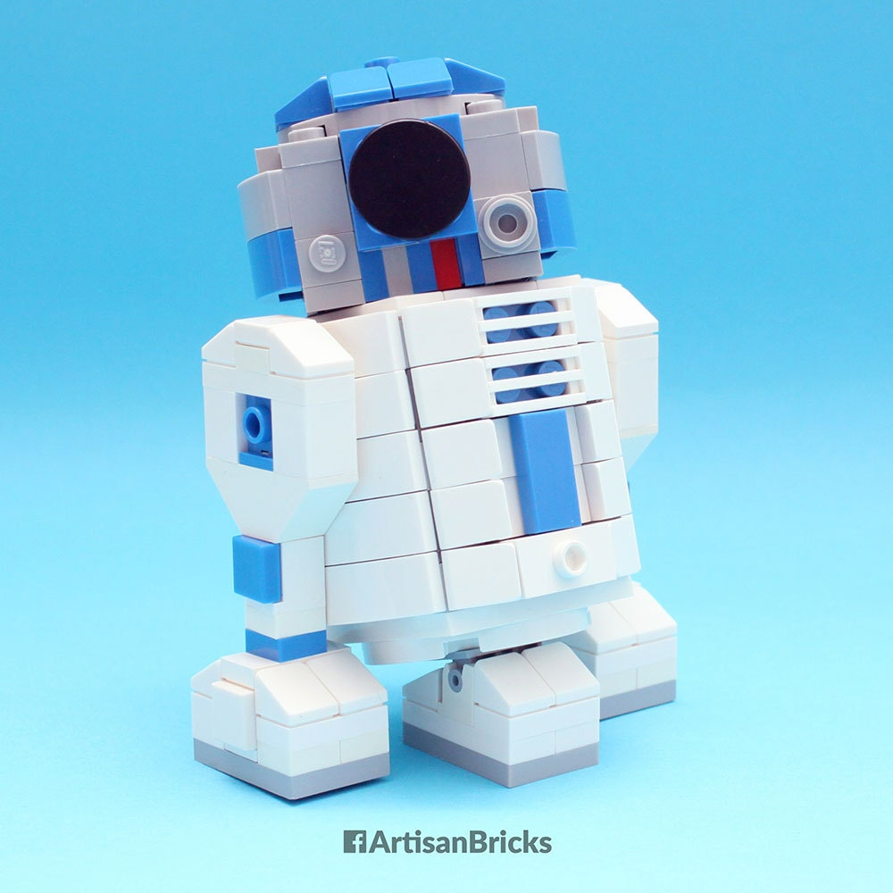 Custom lego star wars r2 d2 building kit - Lego starwars r2d2 ...