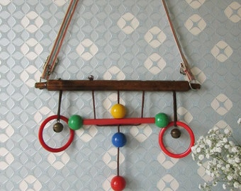 Vintage Cradle Gym made in the 1950s or 1960s 16225