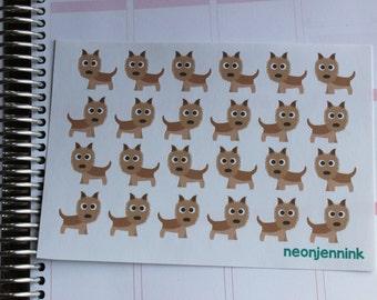 Cairn Terrier Stickers