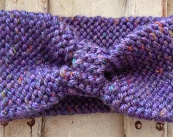 Speckled Purple Headband