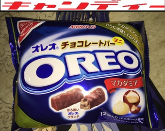 3 BAGS of Japanese Oreo Macadamia Cookie Bars