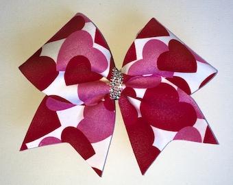 Hearts Cheer Bow