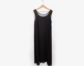 Chiffon Tank Dress OS