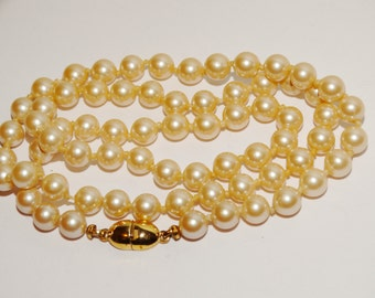 "VGE Monet 1/4 inch Pearl 20"" Necklace."