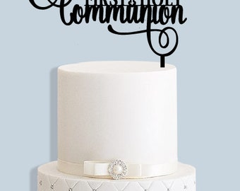 First Holy Communion Cake Topper