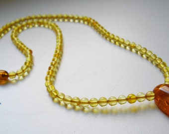 Amber necklace - the youngest daughter