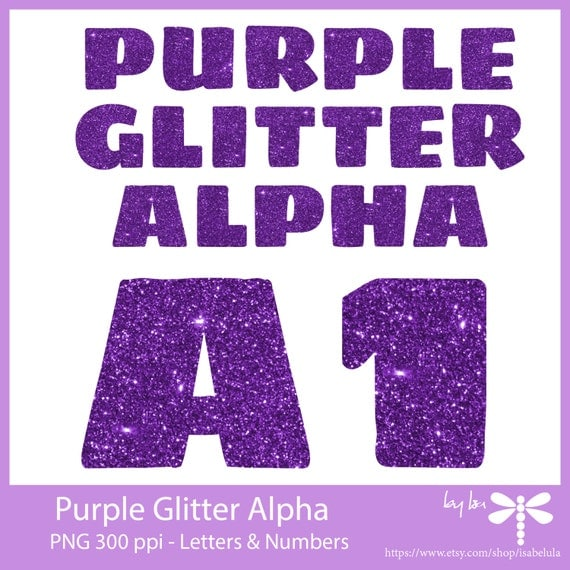 purple glitter letters numbers digital clipart 79 high purple glitter alphabet letters and numbers 37 pngs 209