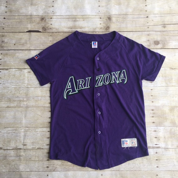 vintage clothing baseball arizona jersey tshirt top