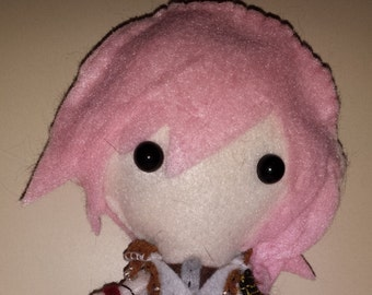 Final Fantasy XIII Inspired Plush : Lightning