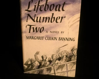 Life Boat Number Two by Margaret Culkin Banning                   VG2156