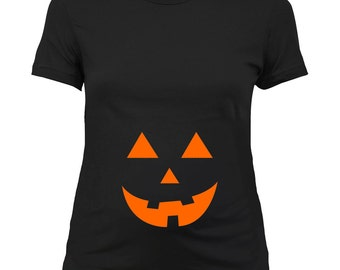 Maternity Halloween Costume Baby Announcement Shirt Pregnancy Reveal Pregnant T Shirt New Mom Gifts For Expecting Mothers Ladies Tee - SA342