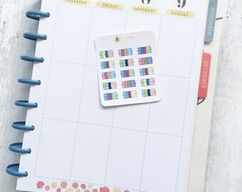 Planner Icon Sticker Set