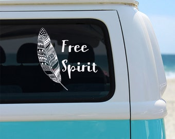 Boho Car Decal Etsy - Vinyl window decals for cars