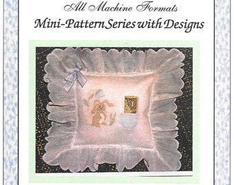 Suzanne Hinshaw - Shadow Work by Machine - Multi format Floppy Disk - Bunny Tooth Fairy Pillow - New/unused