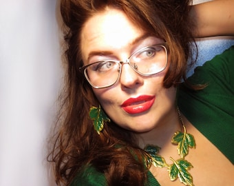 The Poison Ivy Statement Necklace