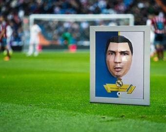 Cristiano Ronaldo - DIY 3D Papercraft Templates