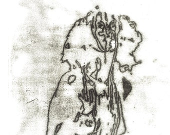 Original Medium Sized Monoprint, Contemporary Art