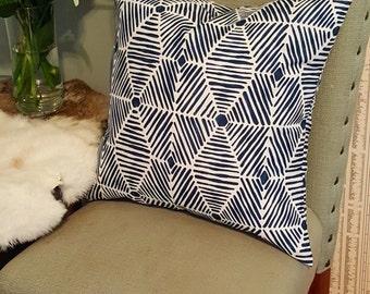 Indoor/Outdoor Navy Pillow