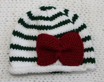 Newborn Baby Christmas Hats