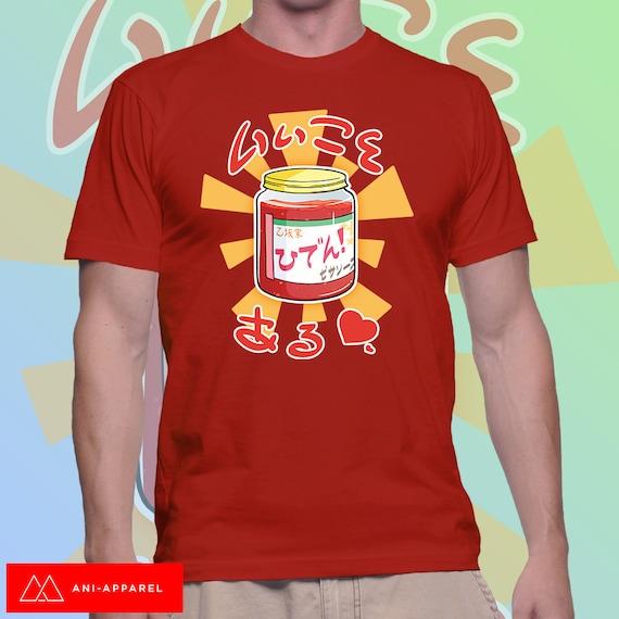 Charlotte Pizza Sauce Red Yellow T Shirt Mens Amp Ladies