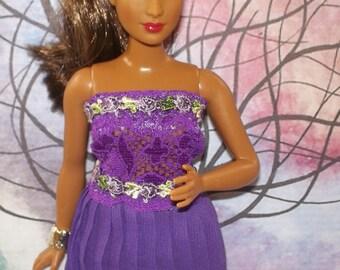 Curvy Barbie Special Occassion Dress