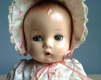 Composition Baby Doll 1940s
