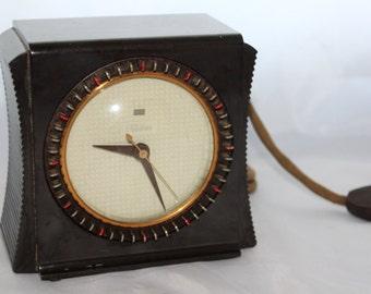 1950's Telechron Household Timer / Clock -- Model 8H55 -- Warren Telechron, Timer, Switch, Plug