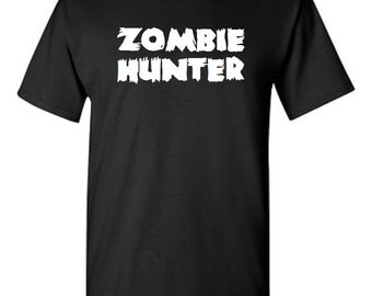 Zombie Hunter -  T shirt