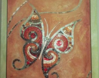 Butterfly-Panel mosaic furniture