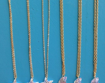 Gold Plated Chain Swarovski Crystal Star Pendant Necklace 18 inches
