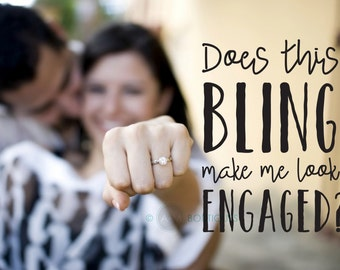 DIY Photo Overlay // Does This bling make me look engaged? //  PHOTO OVERLAY png Files