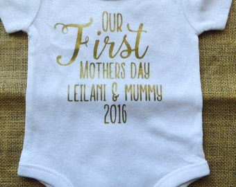 First Mothers Day - Baby bodysuits
