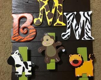 Jungle-Safari Picture Hanger