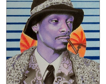 Snoop Dogg 'Sunset Funk' Print