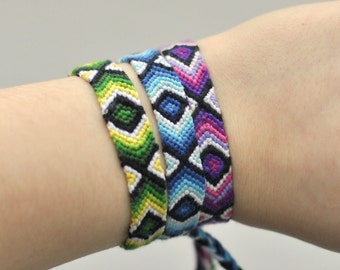 woven Friendship Bracelet, colors of your own choice